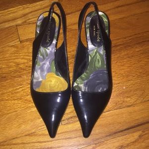 Kate Spade Patent Leather Slingbacks Sz 7